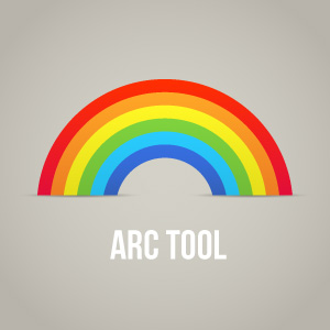 Arc Tool in Adobe Illustrator