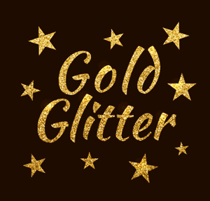 How to Create a Gold Glitter Texture with Stipplism in Adobe Illustrator