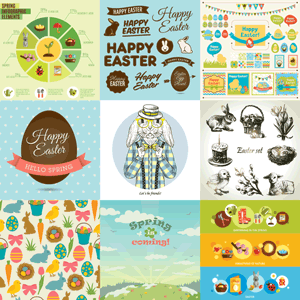 50 Free Easter Stock Vectors from VectorState