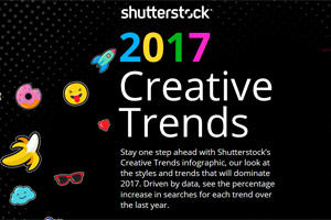 Infographic: Explore Shutterstock's Global Creative Trends That Will Shape 2017