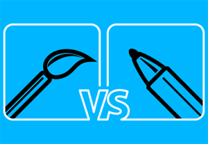 Paint Brush and DynamicSketch – The Differences