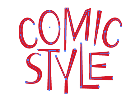 how to get comic effect in illustrator