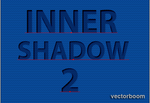 How to create inner shadows for editable text in Adobe Illustrator