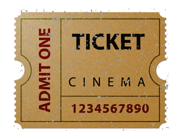 Illustrator Basics How to Illustrate an Old Cinema Ticket with ...