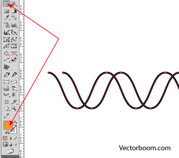 Drawing Vector Lines In Illustrator : Rope line drawing pixshark images galleries