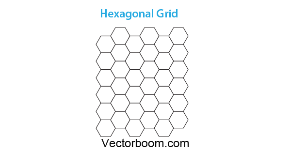 how to create hexagonal grids for making patterns in illustrator