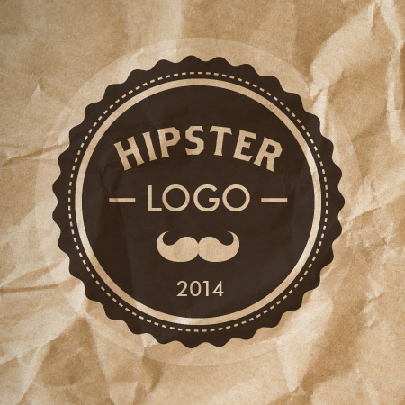 Create dynamic Hipster logo with Astute Graphics' tools